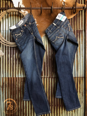The Kody Mid Rise Straight Leg Jean {plus sizes available}