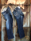 The Entwined Mid Rise Bootcut Jean {plus sizes available}