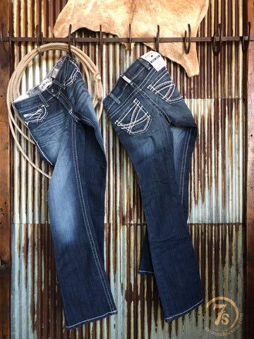 The Entwined Boot Cut Jean {plus sizes available}