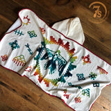 Sunrise Eagle Hooded Baby Towel