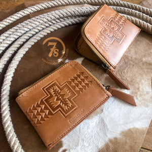 Harding Leather Zip Wallet
