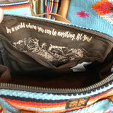 The Saltillo Makeup Bag