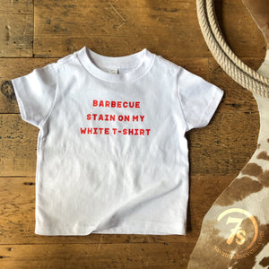 The Barbecue Stain {toddler}