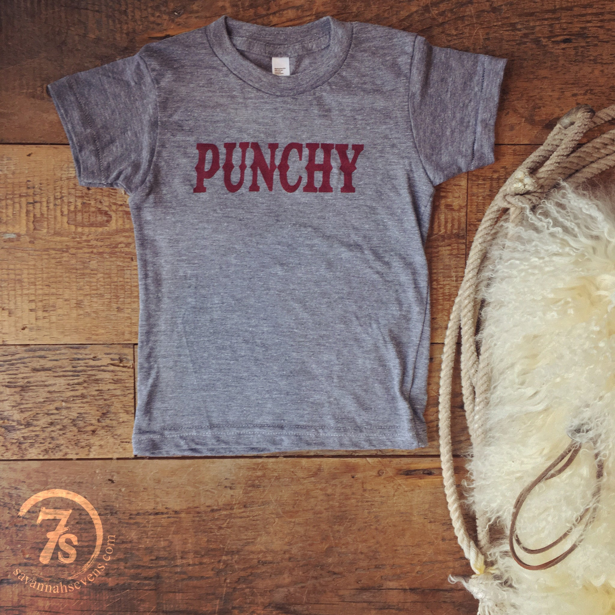 The Punchy {kids tee}