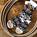 Natural Spider Rock Pendleton Crew Sock