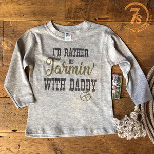 The Farmin' Kiddo Tee