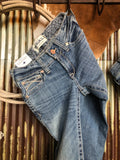 The Alabama Mid Rise Straight Leg Jean