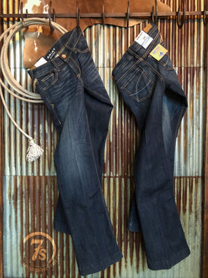 The Tryan Mid Rise Trouser Jean