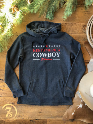 The Keep America Cowboy {hoodie}