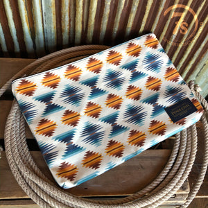 The Falcon Cove Sunset Zip Pouch
