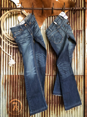 The Colter Mid Rise Bootcut Jean **Exclusive**