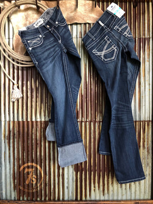 The Dresden Mid Rise Straight Leg Jean {plus sizes available}