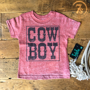 The Angus Cowboy Kiddo Tee