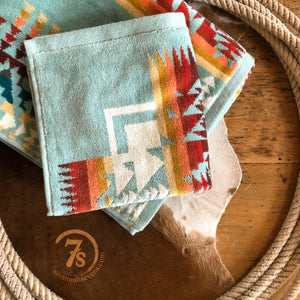 Chief Joseph Aqua Wash Cloth