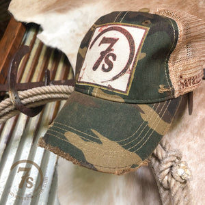 7s Foil Patch Cap {camo}