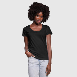 Women's Scoop Neck T-Shirt (Personalize)