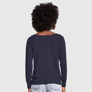 Women's Wideneck Sweatshirt (Personalize)