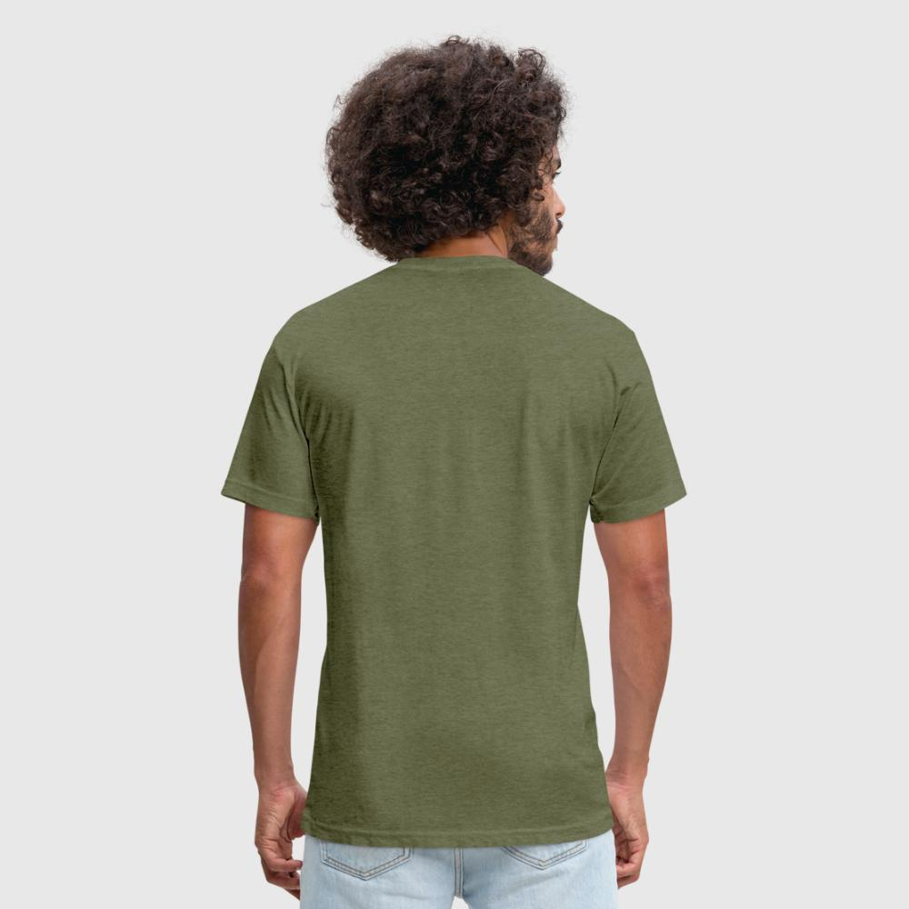 Fitted Cotton/Poly T-Shirt by Next Level (Personalize)