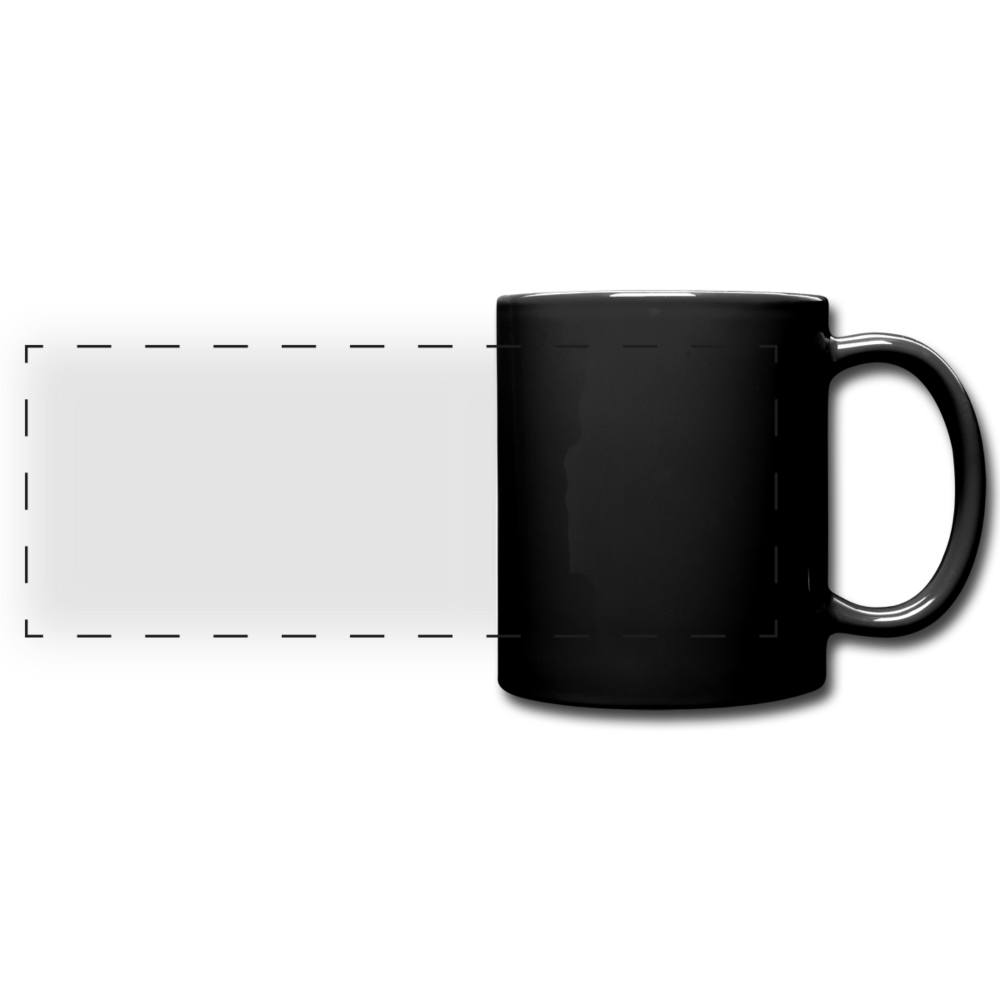 Full Color Panoramic Mug - black