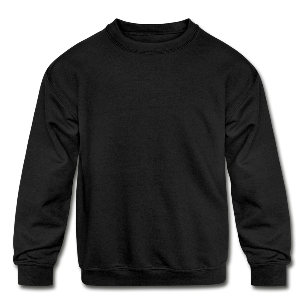 Kids' Crewneck Sweatshirt - black