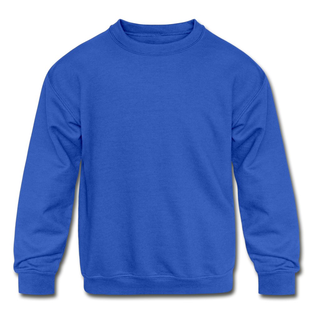 Kids' Crewneck Sweatshirt - royal blue