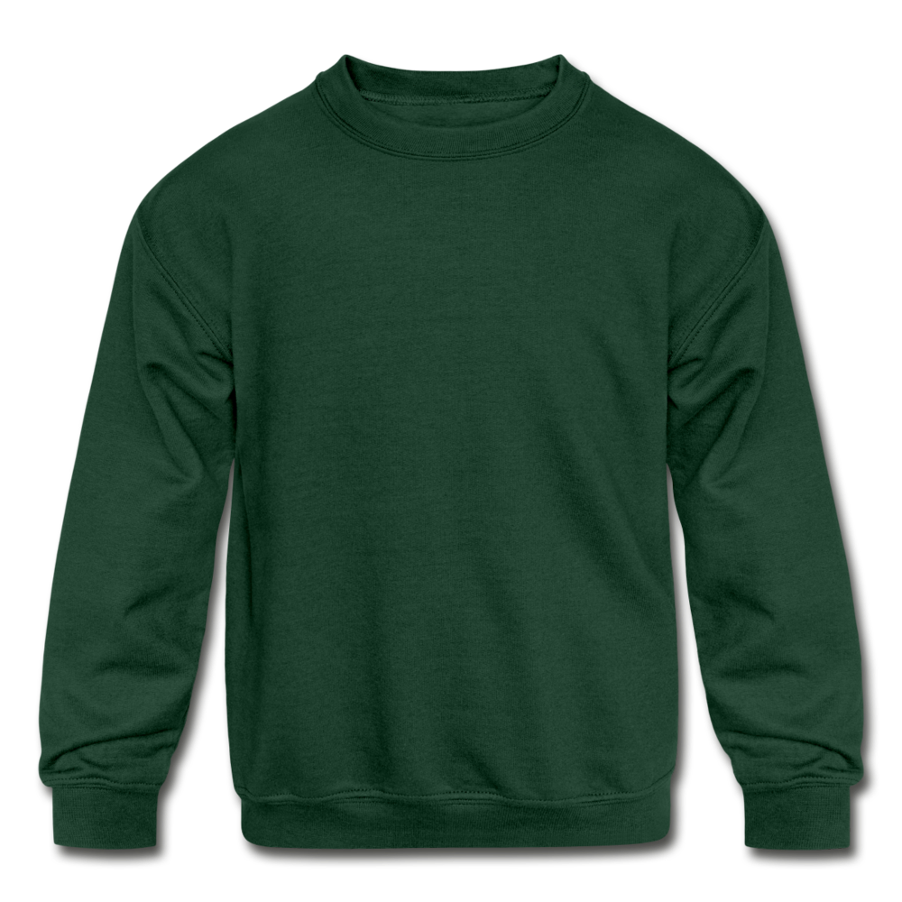 Kids' Crewneck Sweatshirt - forest green