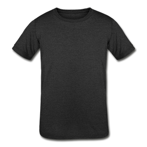 Kids' Tri-Blend T-Shirt - heather black
