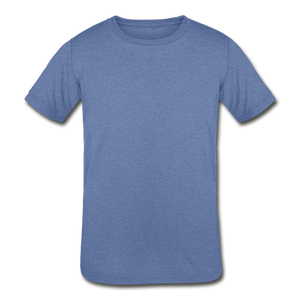 Kids' Tri-Blend T-Shirt - heather Blue