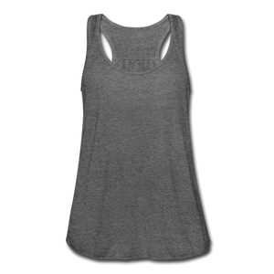 Women's Flowy Tank Top by Bella - deep heather
