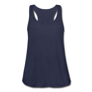 Women's Flowy Tank Top by Bella - navy