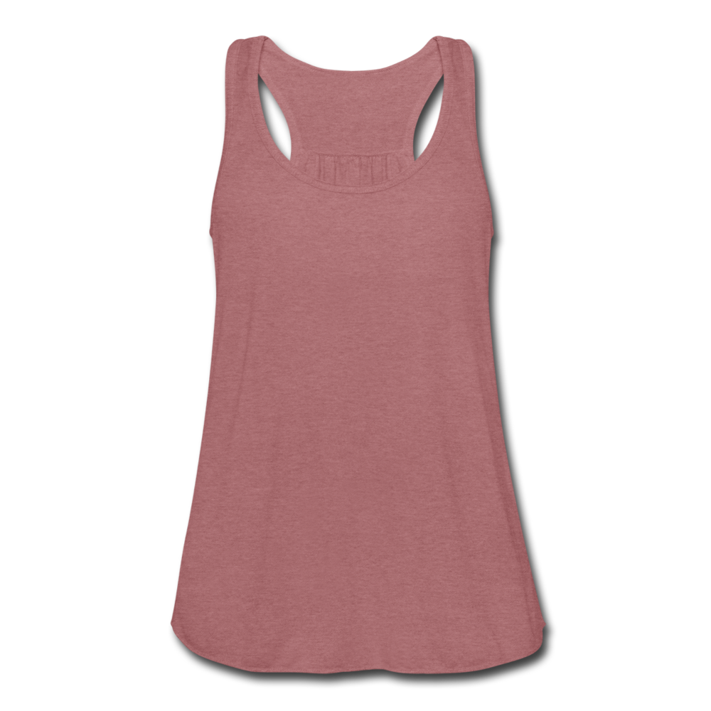 Women's Flowy Tank Top by Bella - mauve