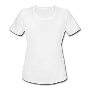 Women's Moisture Wicking Performance T-Shirt - white