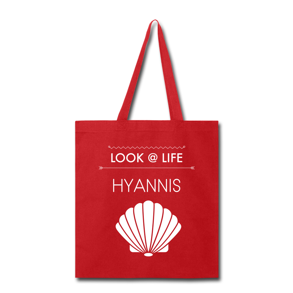 Hyannis Tote Bag - red