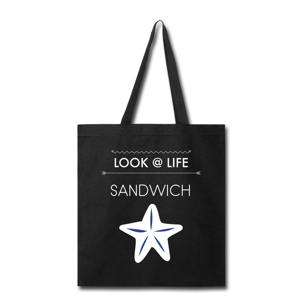 Sandwich Tote Bag - black