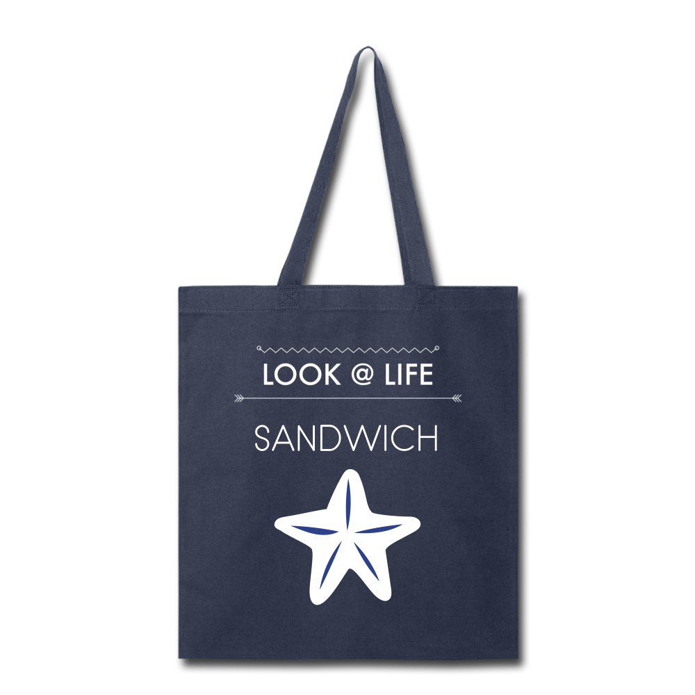 Sandwich Tote Bag - navy