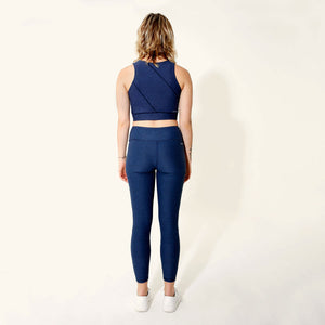 Navy 7/8 Legging by _AS YOU ARE