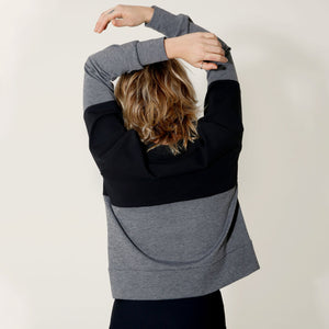 Two Tone Crewneck by _AS YOU ARE