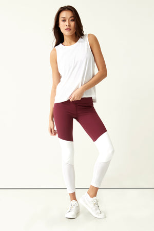 Laser Colorblock 7/8 Legging