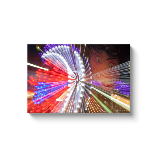 """Tillie Streaks, Coney Island"" Canvas Wraps"