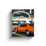 """American Muscle, Coney Island"" Canvas Wraps"