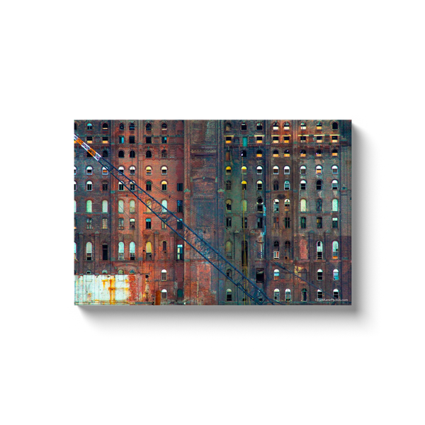 """Old DUMBO, Brooklyn"" Canvas Wraps"
