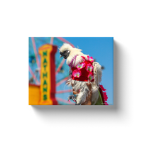 """Lady Gaga the Chicken at Nathan's, Coney Island"" Canvas Wraps"