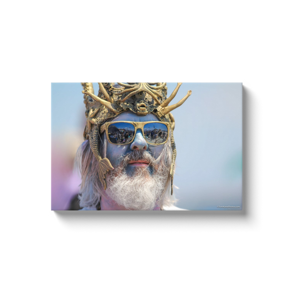 """King Neptune, Coney Island"" Canvas Wraps"