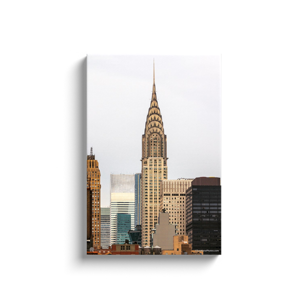 """Chrysler Building, NYC"" Canvas Wraps"