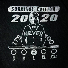 Load image into Gallery viewer, Survive 2020 Edition - Silver Pocket Tee