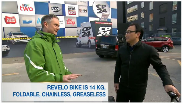 revelo electric bikes, ebike, FLEX, Toronto, Canada, startup, business