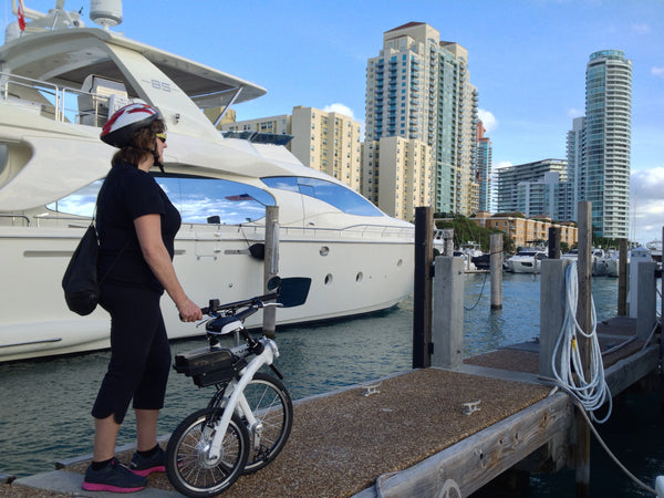 World's most portable, lightweight electric bike for boaters