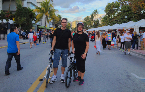 Compact, Revelo FLEX ebikes, South Beach Florida