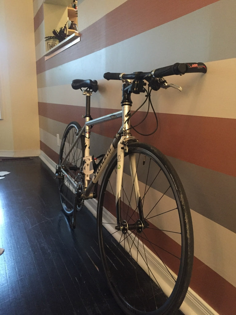 Specialized Allez with THINstem in Living Room