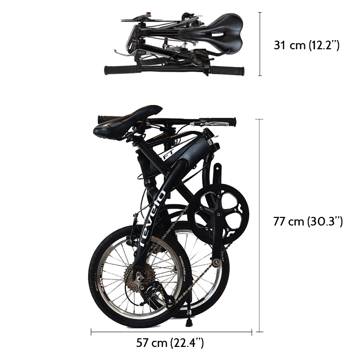 Revelo LIFT folding performance bike